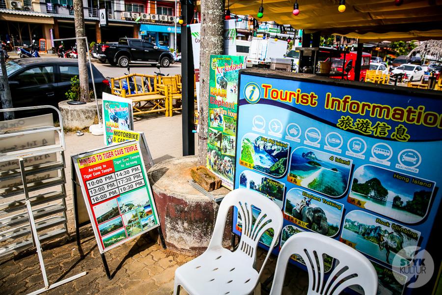 Tajlandia2020 Ao Nang 49 Pieniądze w Tajlandii   waluta, płatność gotówką, karty płatnicze, wypłata z bankomatów