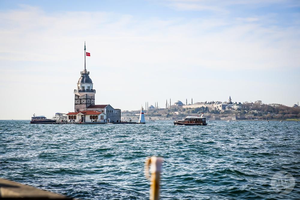 Uskudar Turcja 24 Üsküdar   spokojniejsze oblicze Stambułu, z widokiem na Bosfor i Kız Kulesi