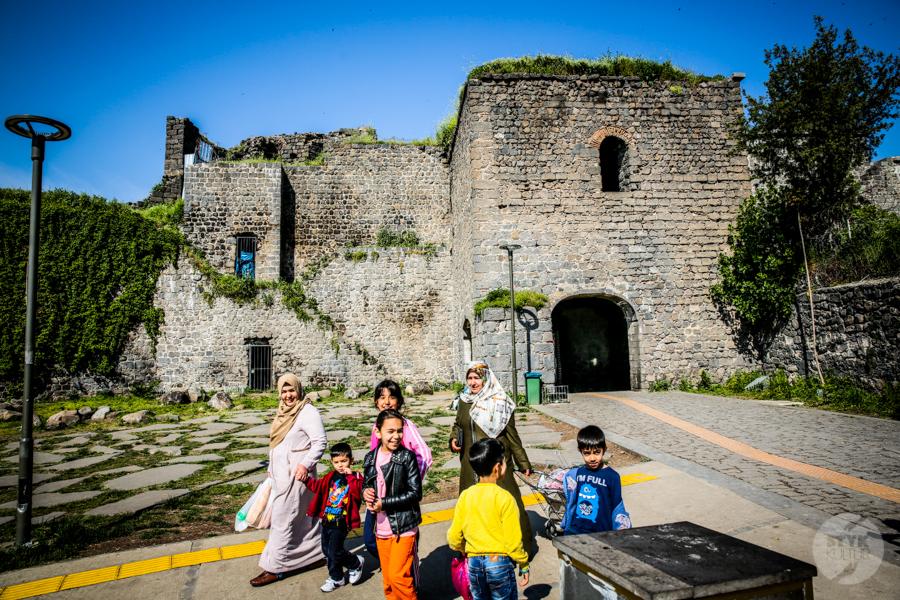 Diyarbakir cytadela 1 of 13 1 Turcja na Liście Światowego Dziedzictwa UNESCO: cytadela Diyarbakır i Ogrody Hevsel