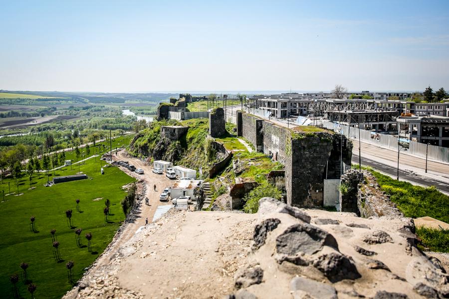 Diyarbakir cytadela 3 of 1 Turcja na Liście Światowego Dziedzictwa UNESCO: cytadela Diyarbakır i Ogrody Hevsel