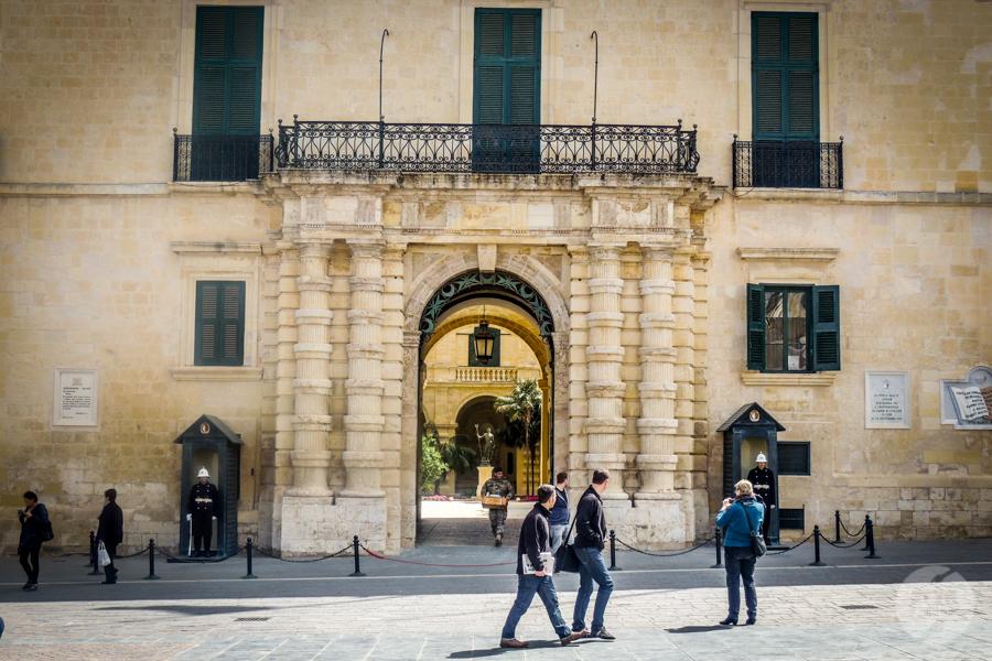 Malta 190 of 206 Wyspa Malta: Valetta i Pałac Wielkiego Mistrza