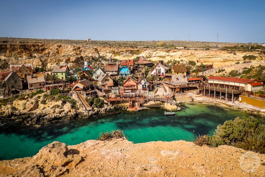 Malta 89 of 206 Popeye Village   bajeczna atrakcja turystyczna Malty!