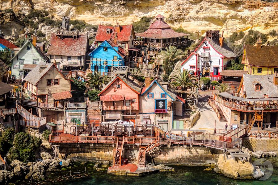 Malta 90 of 206 Popeye Village   bajeczna atrakcja turystyczna Malty!