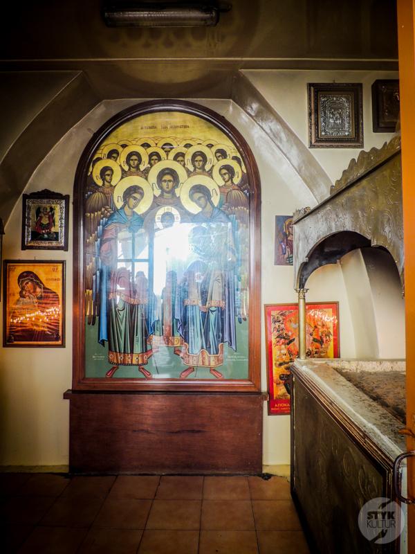 Rodos 2 of 4 Atrakcje okolic Rodos: Klasztor Panormitis i srebrna ikona Michała Archanioła na Simi