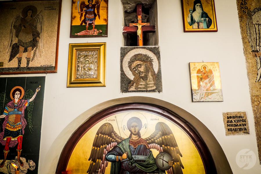Rodos 4 of 4 Atrakcje okolic Rodos: Klasztor Panormitis i srebrna ikona Michała Archanioła na Simi