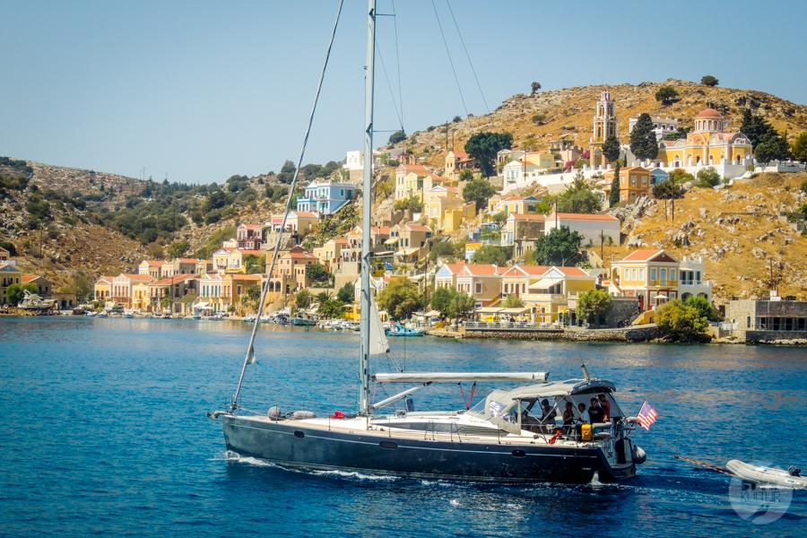 Rodos Grecja 164 Wyspa Simi   grecki raj w pobliżu Rodos