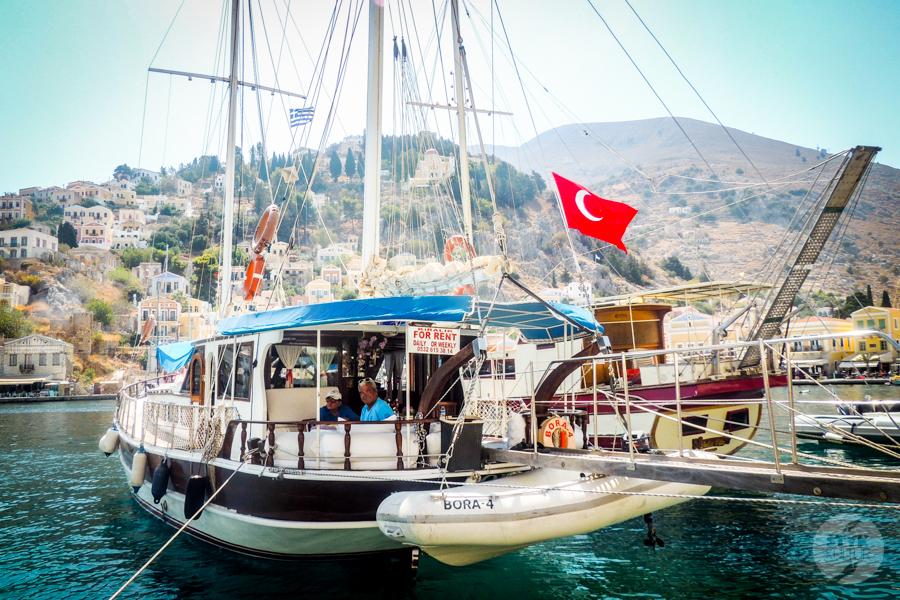 Rodos Grecja 168 Wyspa Simi   grecki raj w pobliżu Rodos