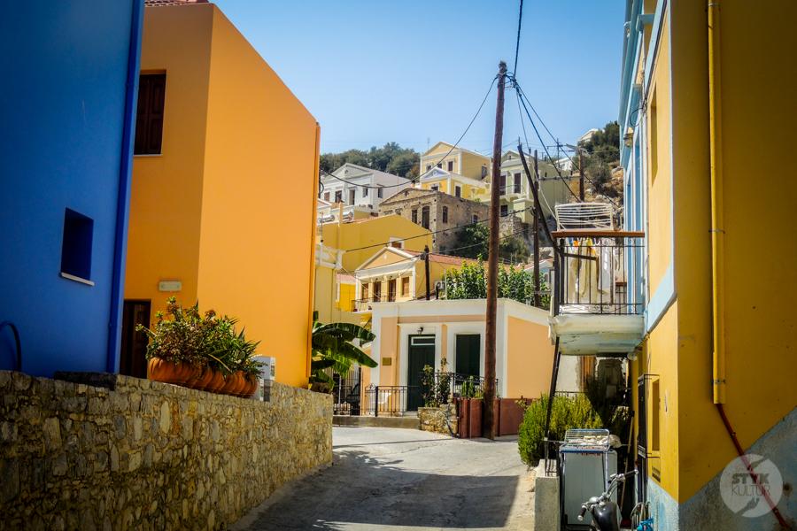 Rodos Grecja 175 Wyspa Simi   grecki raj w pobliżu Rodos