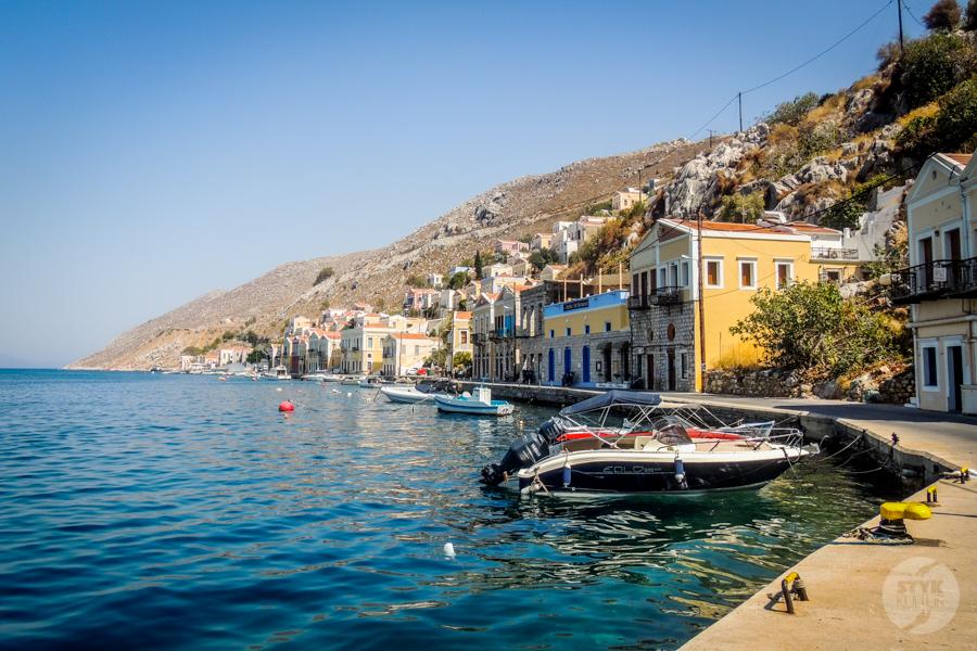 Rodos Grecja 180 Wyspa Simi   grecki raj w pobliżu Rodos