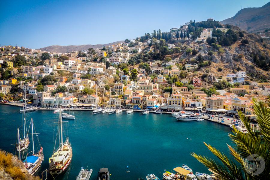 Rodos Grecja 184 Wyspa Simi   grecki raj w pobliżu Rodos