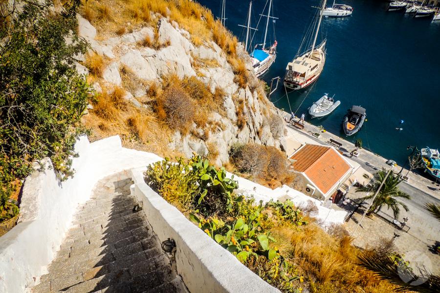 Rodos Grecja 186 Wyspa Simi   grecki raj w pobliżu Rodos