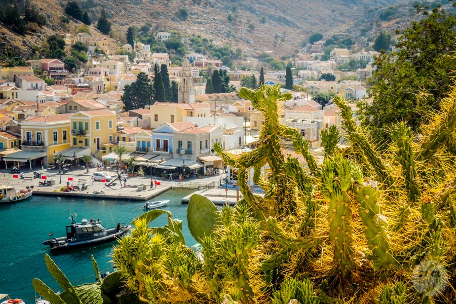 Rodos Grecja 187 Wyspa Simi   grecki raj w pobliżu Rodos
