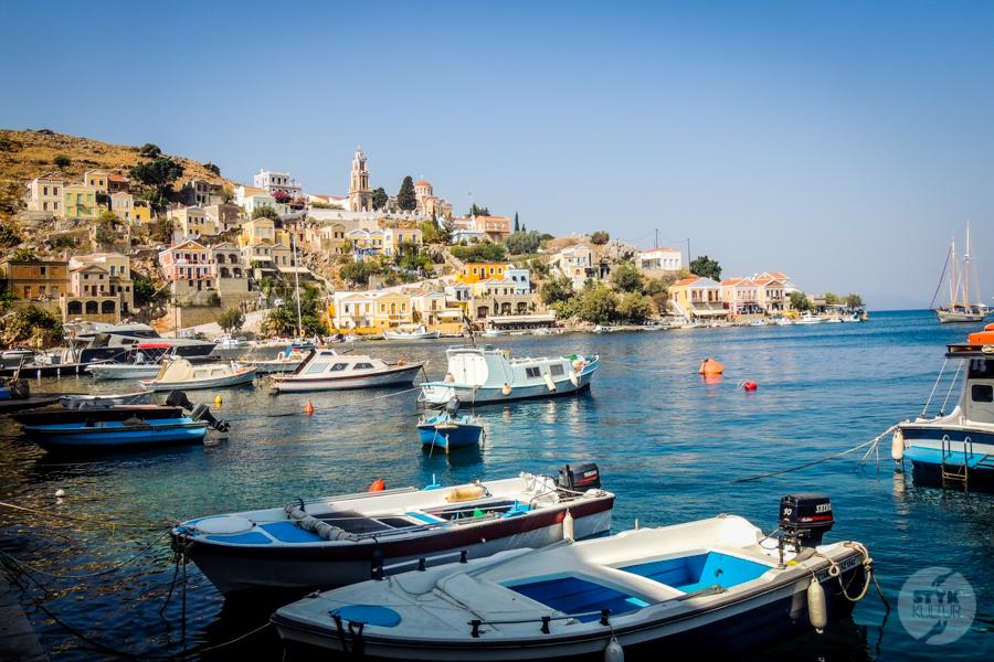 Rodos Grecja 190 1 Wyspa Simi   grecki raj w pobliżu Rodos