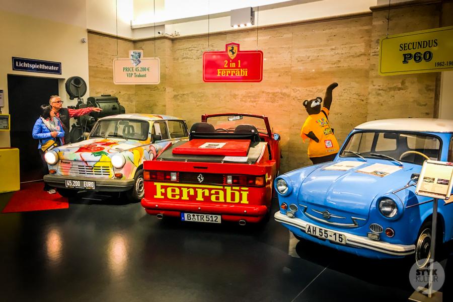 Berlin I 7065 Atrakcje Berlina   Trabi Museum, czyli Muzeum Trabanta
