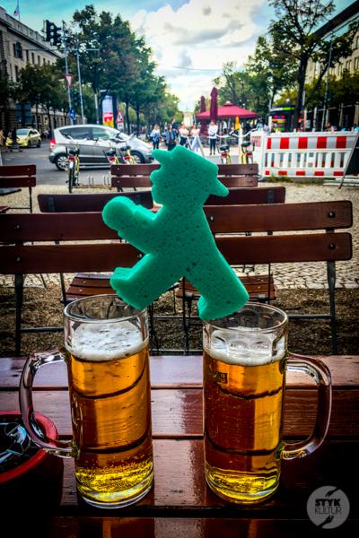 Berlin I 7209 Weekend w Berlinie. Lollapalooza, Ampelmann i niedźwiedzie