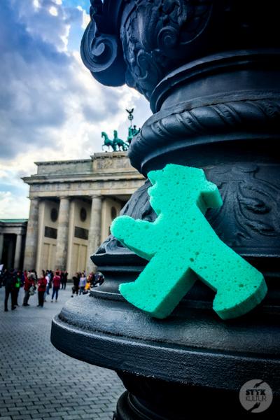 Berlin I 7216 Weekend w Berlinie. Lollapalooza, Ampelmann i niedźwiedzie