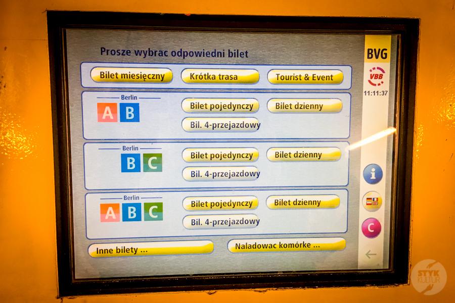 Berlin metro 16 Komunikacja miejska w Berlinie   jak podróżować po stolicy Niemiec? [metro, kolej podmiejska, autobusy, bilety]