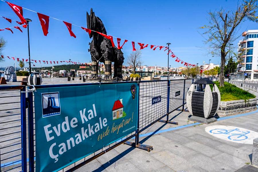 Canakkale 7 of 10 Epidemia koronawirusa w Turcji okiem moich tureckich przyjaciół