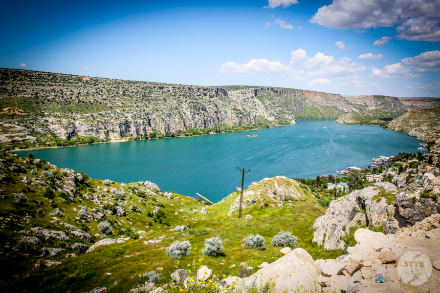 Halfeti 9370 Halfeti   zatopione miasto w południowo wschodniej Turcji podbija serca turystów