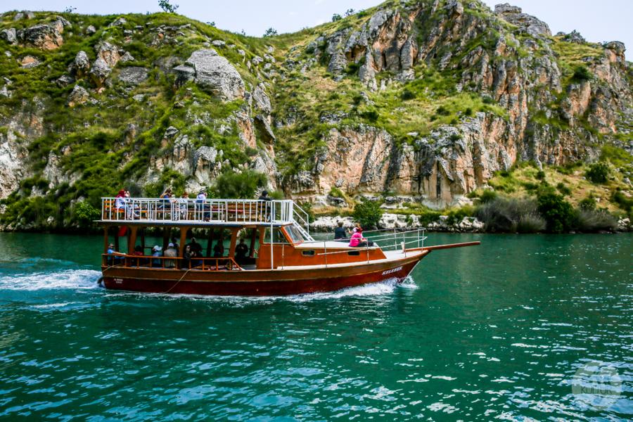 Halfeti 9396 Halfeti   zatopione miasto w południowo wschodniej Turcji podbija serca turystów
