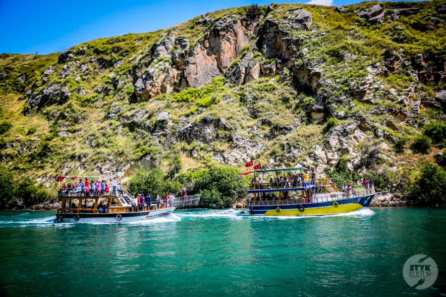 Halfeti 9397 Halfeti   zatopione miasto w południowo wschodniej Turcji podbija serca turystów