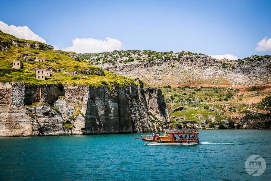 Halfeti 9408 Halfeti   zatopione miasto w południowo wschodniej Turcji podbija serca turystów