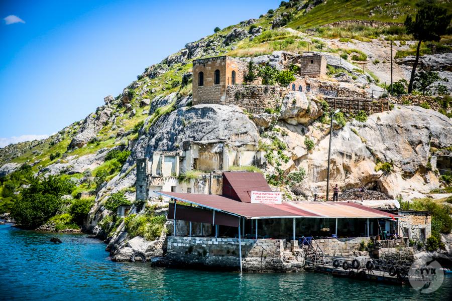 Halfeti 9414 Halfeti   zatopione miasto w południowo wschodniej Turcji podbija serca turystów