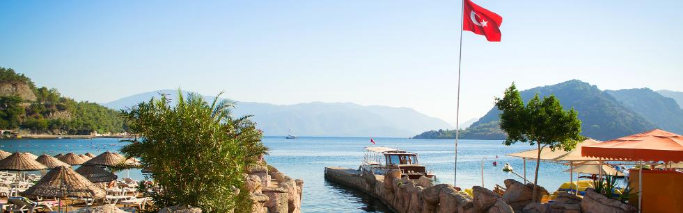 Icmeler 1 İçmeler   popularny turecki kurort na Wybrzeżu Egejskim