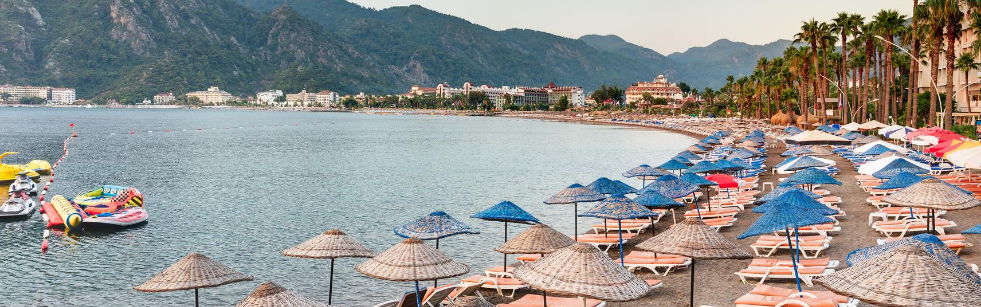 Icmeler 2 İçmeler   popularny turecki kurort na Wybrzeżu Egejskim