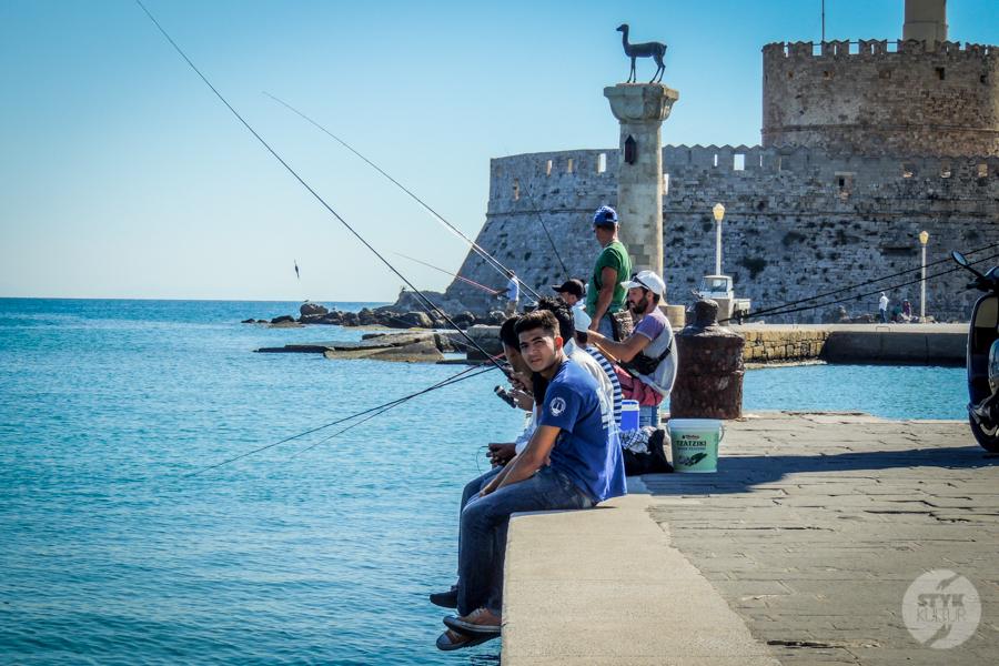 Rodos port4 12 1 Co warto zobaczyć w mieście Rodos? 12 najpopularniejszych atrakcji stolicy greckiej wyspy