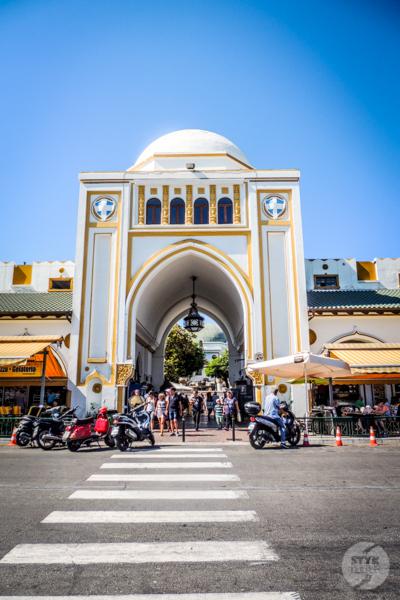 Rodos stolica 1 Co warto zobaczyć w mieście Rodos? 12 najpopularniejszych atrakcji stolicy greckiej wyspy