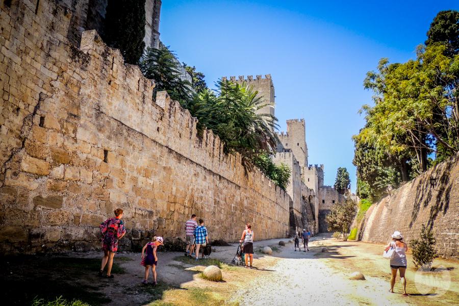 Rodos stolica 10 Co warto zobaczyć w mieście Rodos? 12 najpopularniejszych atrakcji stolicy greckiej wyspy