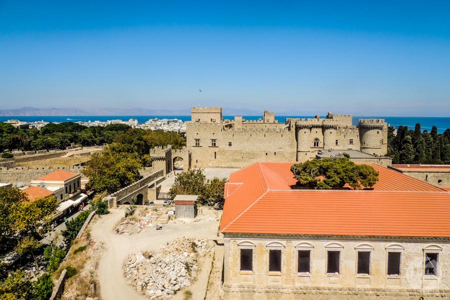 Rodos stolica 26 Co warto zobaczyć w mieście Rodos? 12 najpopularniejszych atrakcji stolicy greckiej wyspy
