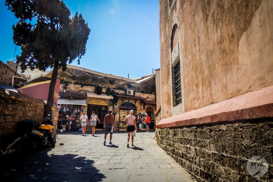 Rodos stolica 32 1 Co warto zobaczyć w mieście Rodos? 12 najpopularniejszych atrakcji stolicy greckiej wyspy