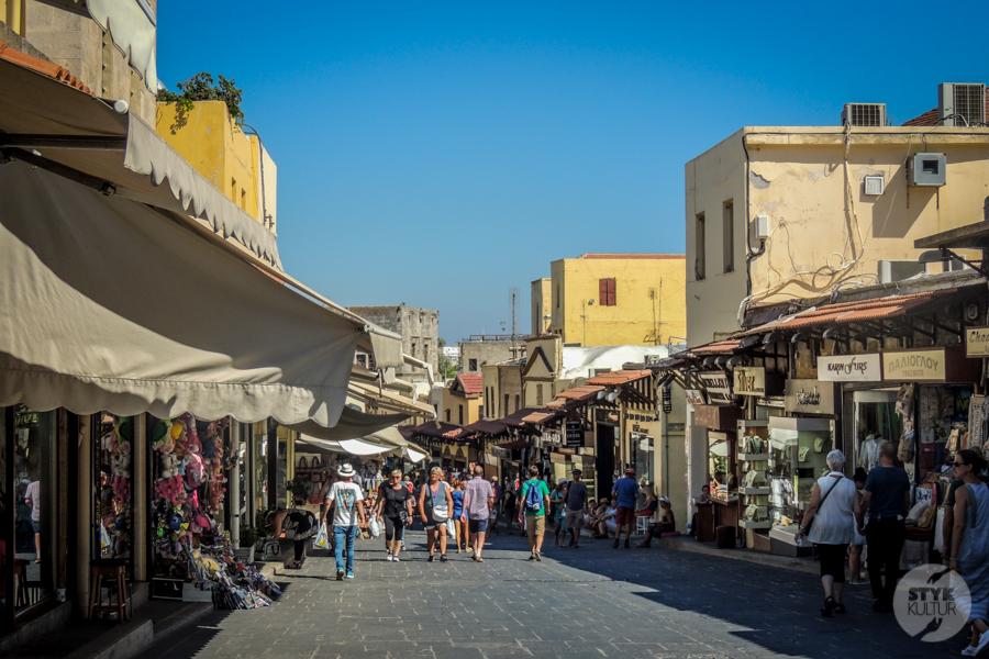 Rodos stolica 54 1 Co warto zobaczyć w mieście Rodos? 12 najpopularniejszych atrakcji stolicy greckiej wyspy