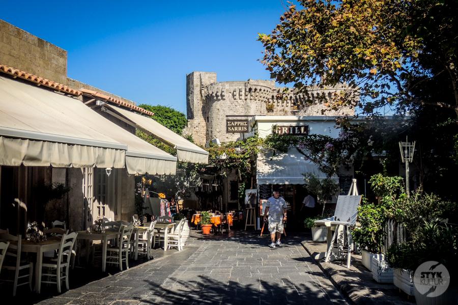 Rodos stolica2 17 1 Co warto zobaczyć w mieście Rodos? 12 najpopularniejszych atrakcji stolicy greckiej wyspy