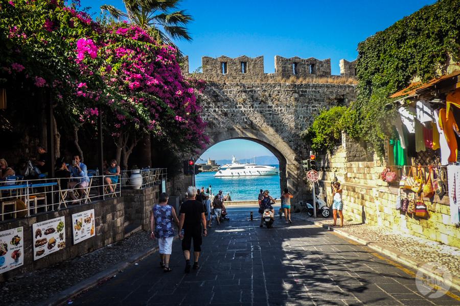 Rodos stolica2 5 1 Co warto zobaczyć w mieście Rodos? 12 najpopularniejszych atrakcji stolicy greckiej wyspy