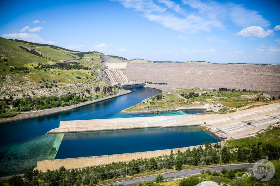 ZaporaAtaturka 2 of 13 Nieznane miejsca w Turcji: Zapora Atatürka na rzece Eufrat