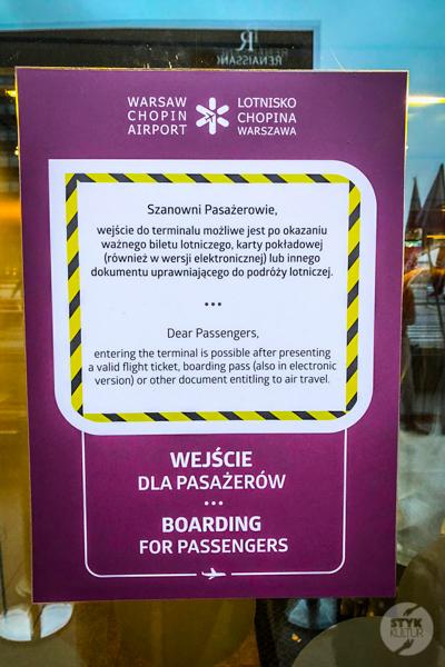 Chopin lotnisko 3 Wakacje we Włoszech 2020: nasz pobyt w Rzymie w czasie pandemii koronawirusa