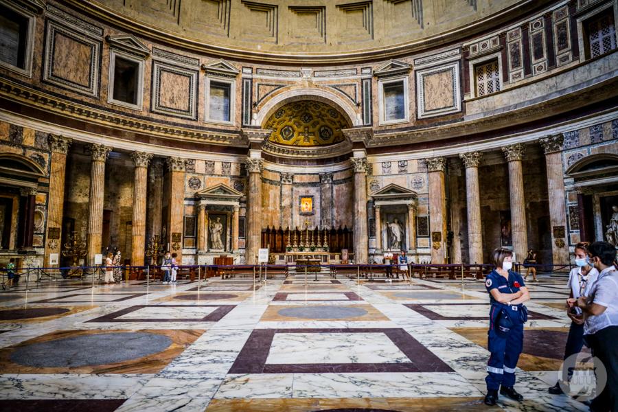 Panteon Rzym 8 of 19 1 Panteon   największy wyraz świetności Rzymu [zwiedzanie, bilety, COVID 19]