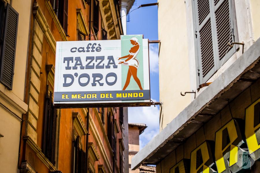 Rzym kawa 12 Marzy Ci się pyszna kawa w Rzymie? Ta kawiarnia Cię zachwyci!