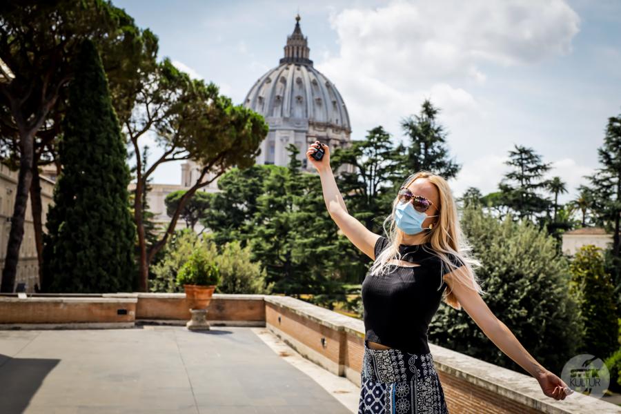 Rzym koronawirus 13 Wakacje we Włoszech 2020: nasz pobyt w Rzymie w czasie pandemii koronawirusa