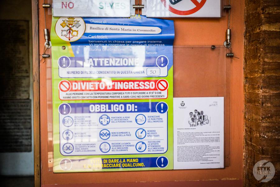 Rzym koronawirus 8 Wakacje we Włoszech 2020: nasz pobyt w Rzymie w czasie pandemii koronawirusa