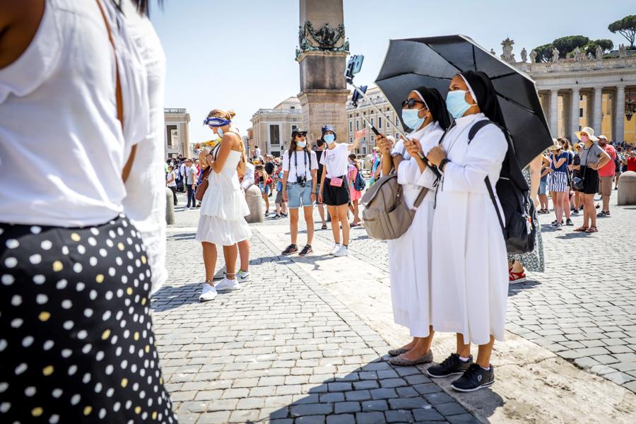 Rzym koronawirus 9 Wakacje we Włoszech 2020: nasz pobyt w Rzymie w czasie pandemii koronawirusa