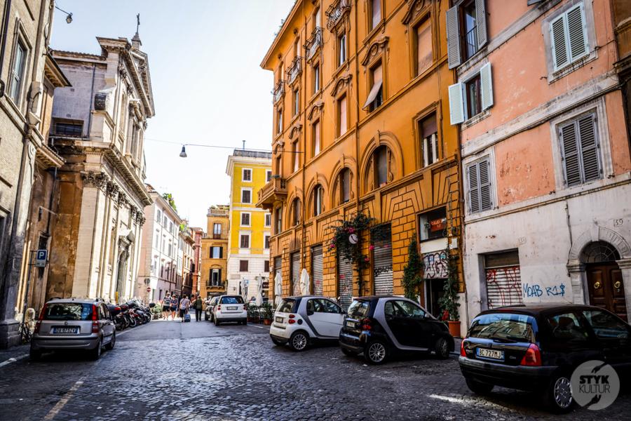 Rzym ulica 2 Wakacje we Włoszech 2020: nasz pobyt w Rzymie w czasie pandemii koronawirusa