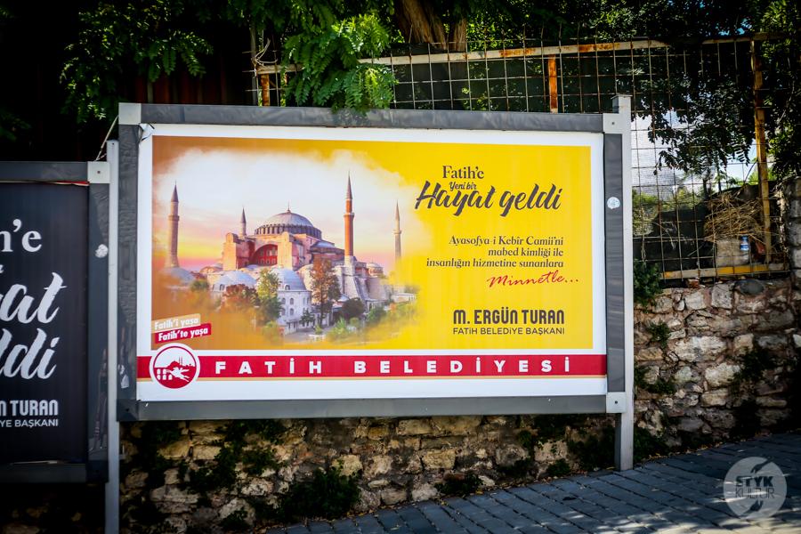 HagiaSophia meczet 3 1 of 1 Odwiedziliśmy meczet Hagia Sophia. Tak obecnie prezentuje się wnętrze dawnej świątyni chrześcijańskiej