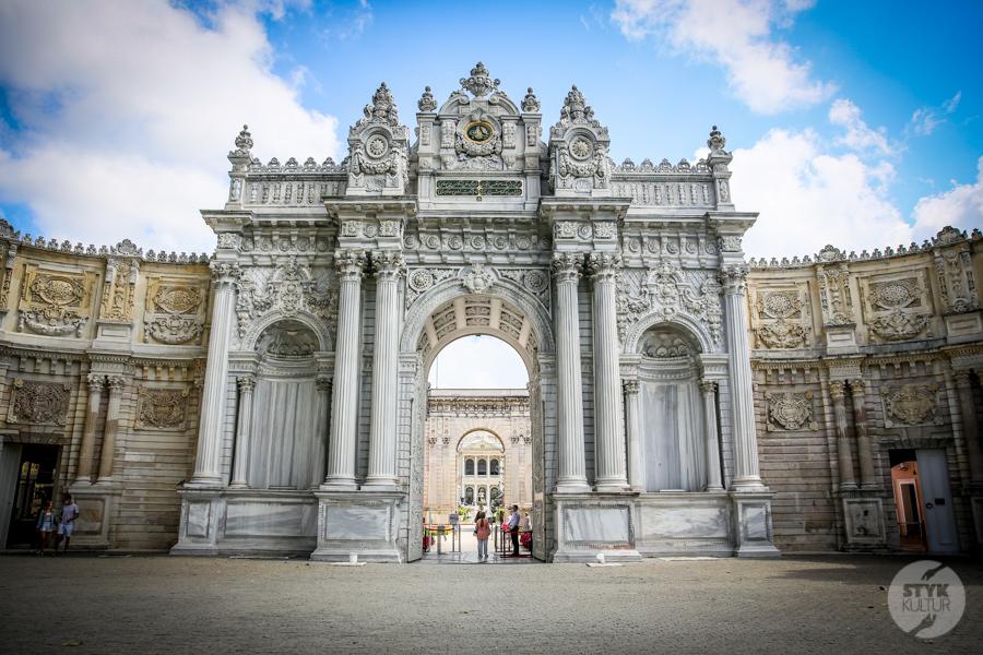 Palac Dolmabahce 2 of 21 Pałac Dolmabahçe w Stambule   europejski sen XIX wiecznych sułtanów