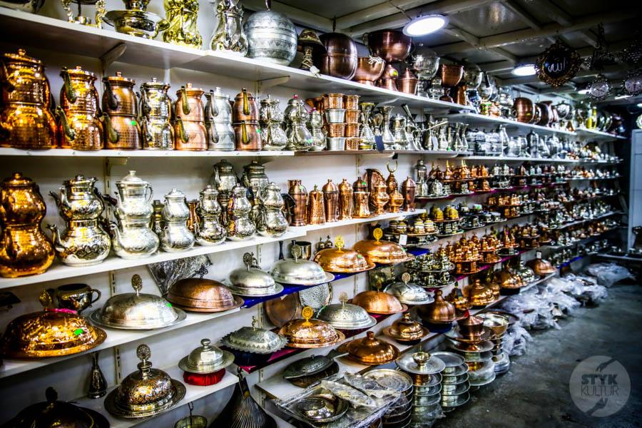 Diyarbakir miedz 12 of 25 Z odwiedzinami w warsztacie jednego z mistrzów tradycyjnego miedziarstwa w tureckim Diyarbakır