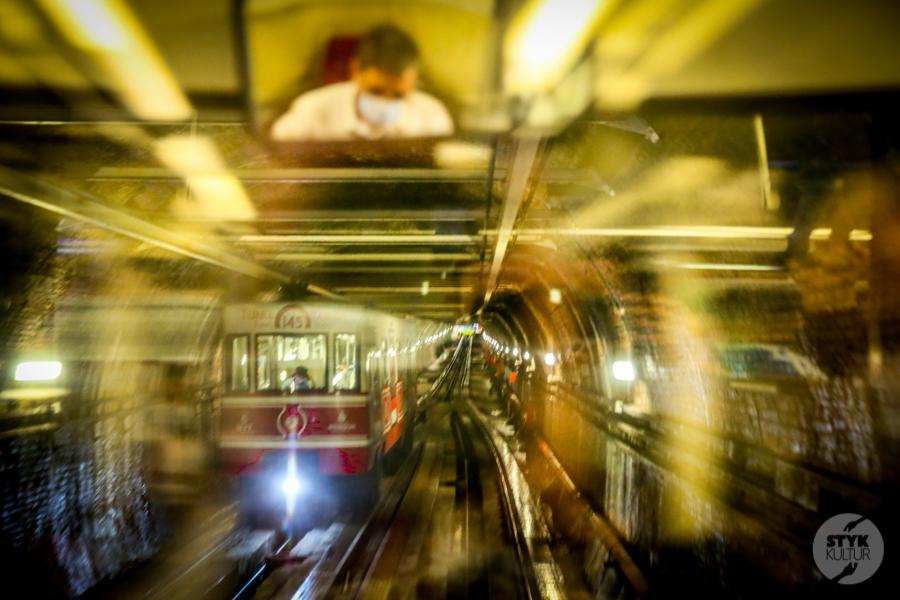 """kolejka 7 of 12 Stambulski """"Tünel""""   druga najstarsza podziemna kolej w Europie!"""