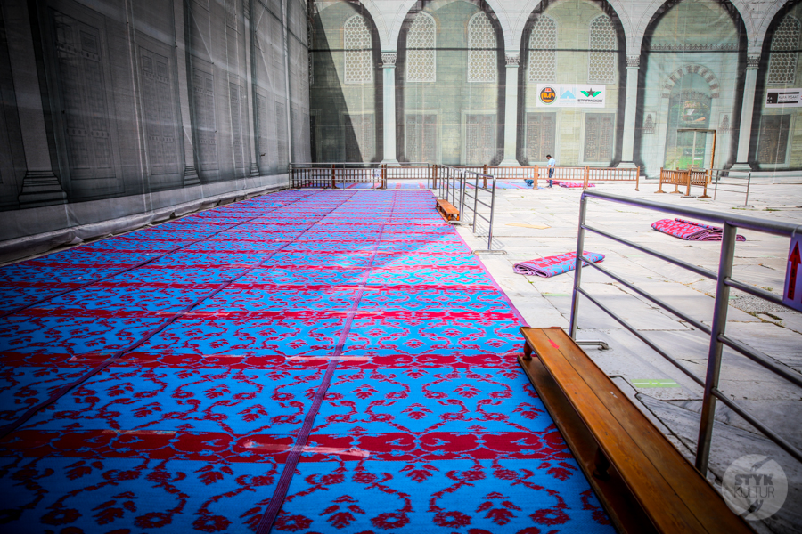 BlekitnyMeczet 5 of 11 Błękitny Meczet w Stambule